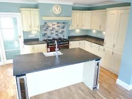home interior nativity steel gray leathered granite characteristic rustic ivory kitchen