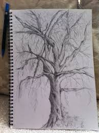36 best dead tree pencil drawings images on pinterest pencil