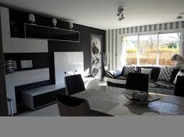 chambre noir gris charmant deco chambre noir et blanc avec emejing salon gris blanc