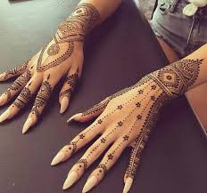 collection of 25 henna hand tattoo photos
