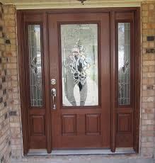 Fiberglass Exterior Doors With Glass Fiberglass Exterior Doors R25 In Stunning Home Decor Ideas