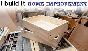 building kitchen base cabinets how to make drawers the easy way kitchen cabinet build youtube