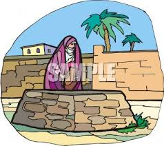 woman at the well clipart 26