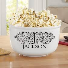 personalized bowl personalized popcorn bowl colors walmart