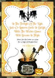 vintage halloween invitations halloween party invitations