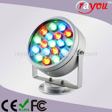 color changing outdoor lights quality rgb led high power projector light china outdoor led spot