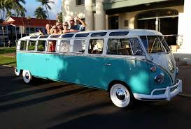 volkswagen classic bus check out this retro volkswagen bus limo rvshare com