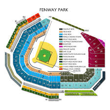fenway park seating map york yankees at boston sox tickets 4 11 2018