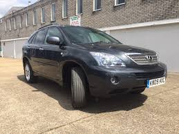 lexus hybrid uk used used lexus rx 400h suv 3 3 executive limited edition cvt 5dr in