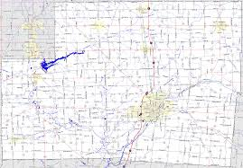 Ohio Map by Bridgehunter Com Shelby County Ohio