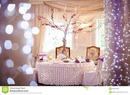 Decoration Tables by Beautiful Wedding Reception Table Decoration Stock Photo Image