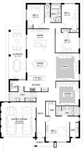 4 br house plans 4 bedroom house plans home designs celebration homes one story