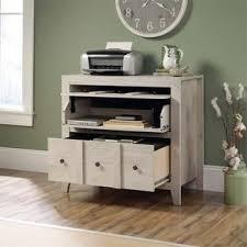 Sauder File Cabinets Sauder Dakota Pass 2 Drawer File Cabinet Tv Stand In Chalked Chestnut