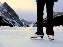best outdoor skating in the world lake louise travel tales of life