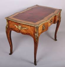 bureau style louis xv high quality nineteenth century kingwood and ormolu mounted louis