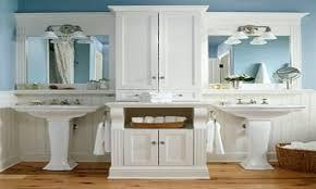 Bathroom Pedestal Sink Storage Alluring Bathroom Sink Storage Drawers Home Design Ideas