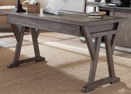 Sofa Laptop Desk by Poplar Solids And White Oak Veneers Laptop Desk In Rustic Saddle