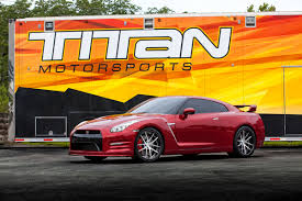 Nissan Gtr Yellow - 2016 regal red nissan gtr premium 6 400 miles modified by titan