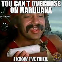 Marijuana Overdose Meme - you can t overdose on marijuana o fres know ive tried meme on