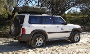 nissan patrol 1990 hannibal roof racks nissan patrol gu hannibal safari equipment