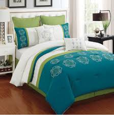 home design comforter enthralling 8 blanca aqua comforter set 5 to