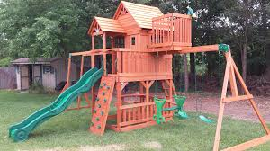 Weston Backyard Discovery 7 7 Backyard Discoveries Skyfort 2 Playset Assembled In