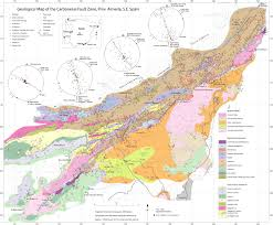 Almeria Spain Map by Structure And Geological History Of The Carboneras Fault Zone Se