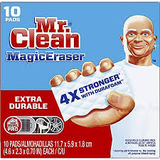 can you use magic eraser on cabinets mr clean magic eraser durable cleaning pads with durafoam 10 count