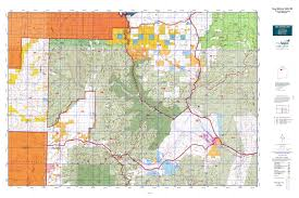 Blm Maps New Mexico by New Mexico Gmu 5b Map Mytopo