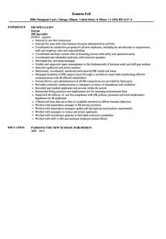 Benefits Specialist Resume Sample by Hr Specialist Resume Sample Velvet Jobs