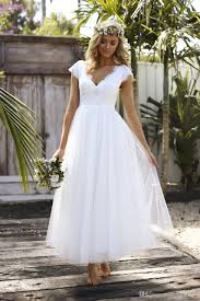 low price wedding dresses discount 2018 country style wedding dresses ankle length