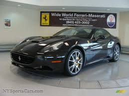 Ferrari California Black - 2010 ferrari california in nero daytona black metallic photo 5