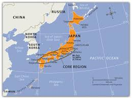 Seas Of The World Map by 10 4 Japan And Korea North And South World Regional Geography