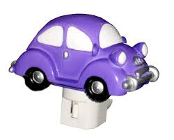 pink punch buggy car amazon com 4 75 u0027 purple bug car night light beetle punch buggy