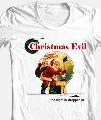 christmas evil t shirt christmas santa horror movie 100 cotton