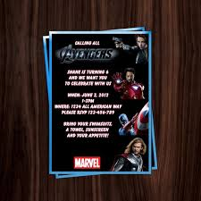 51 best avengers invitations images on pinterest avengers