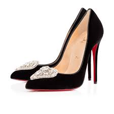 christian louboutin miss taos satin brode black multi christian
