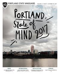 portland state vanguard vol 72 issue 9 by portland state