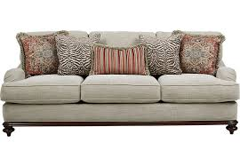 Rooms To Go Sleeper Loveseat Cindy Crawford Home Bali Breeze Taupe Sofa Sofas Beige