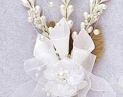 Corsage Flowers Calla Lily Corsage Etsy