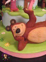 26 torta masha orso images bear cakes cake