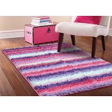 Green Kids Rug Kids Rugs Walmart Com Your Zone Striped Shag Rug Pink 38 X 26