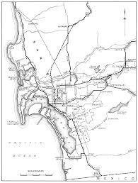 San Diego Old Town Map by California City Maps At Americanroads Com