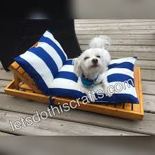 Dog Chaise Dog Lounger Chaise Letsdothiscrafts Com
