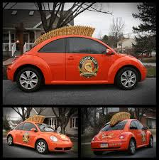 orange volkswagen beetle striving after wind archive shock top mohawk vw beetle