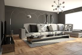 Decorating Ideas Living Room Grey Modern Decoration For Living Room