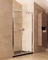 roman lumin8 in swing inward opening shower door 8mm 900mm