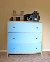 Ikea Hack Dresser by Blue Ombre Dresser Makeover No Sanding Ikea Hack