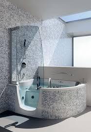 elegant flexible corner bath shower curtain rail tracks in corner