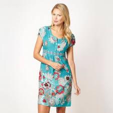 mantaray clothing mantaray aqua blossom summer dress at debenhams mobile mantaray